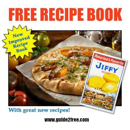 FREE Jiffy Mix Recipe Book - http://www.guide2free.com/food-and-drink/free-jiffy-mix-recipe-book/