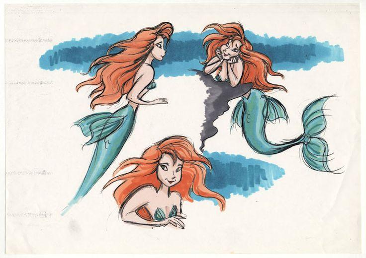 Disney Princess Concept Art.