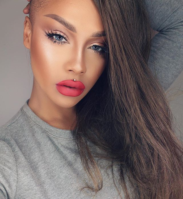 16f9b72e1fa @sonjdradeluxe on Youtube @sonjdradeluxe Instagram photos   Websta   Makeup  and More   Matte lip color, Lip colors, Matte lips