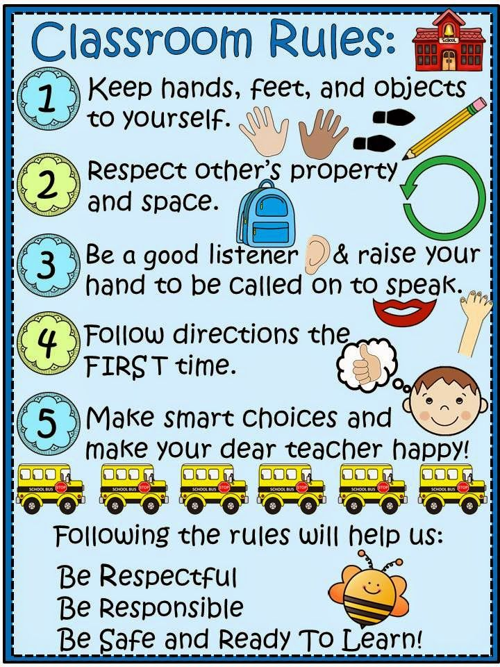 Elementary Classroom Rules ~ Https drive google file d