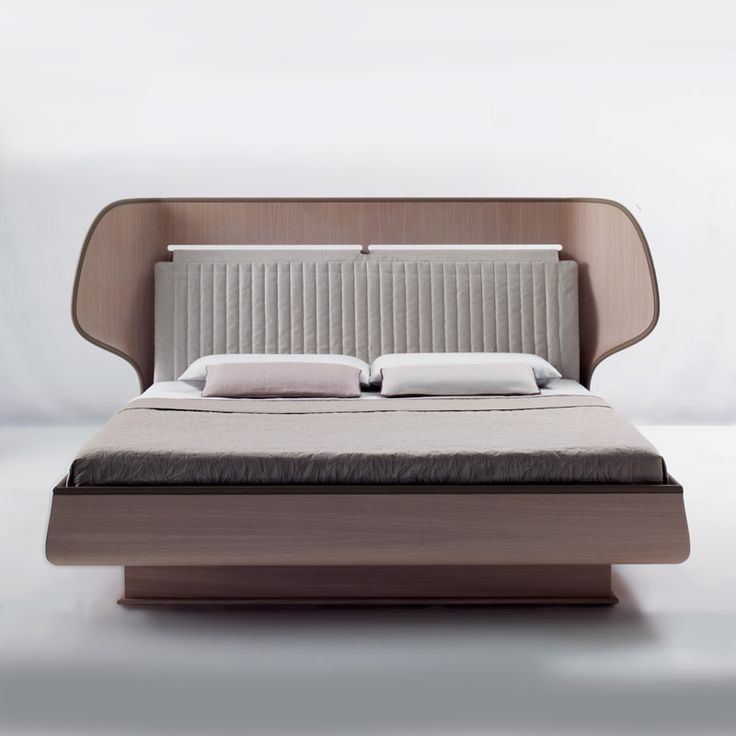 Rima bed,  The user is embraced in a space and defines the room.