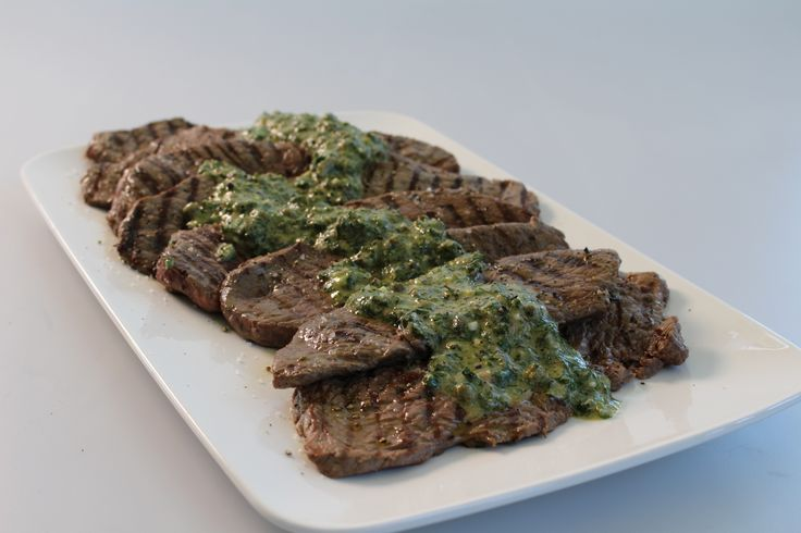 Char-Grilled Rump Steaks w/ Green Pistou. Juicy rump steaks on the BBQ w/ a delightful green pistou. #Woolworths #recipe #bbq #steak http://www.youtube.com/watch?v=4j1o5MgYRR8&feature=c4-overview-vl&list=PLZ-CbFpL2a-sn676JRL2yNSUDr_EOk8XC