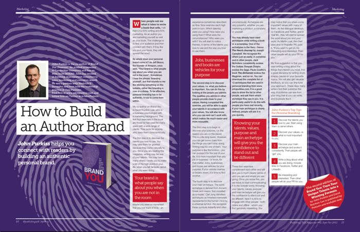 How to Build an Author Brand - by John Purkiss