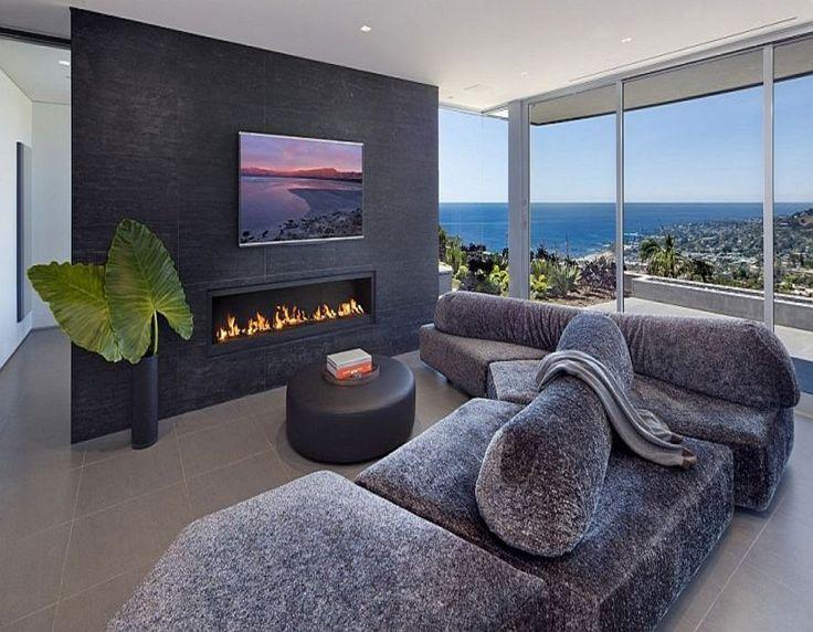 Laguna Beach'de Okyanus Manzaralı Plaj Evi