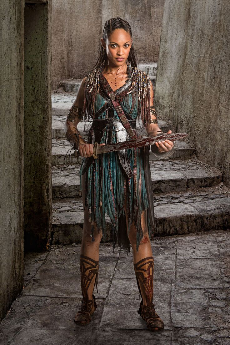 Naevia - Cynthia Addai-Robinson  Spartacus War of the Damned