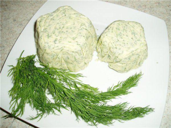 Масло с зеленью (намазка)