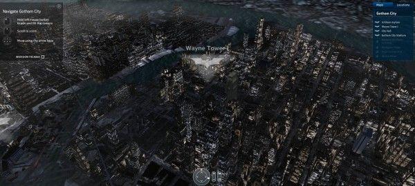 Gotham city Map | El Mapa de ciudad Gótica