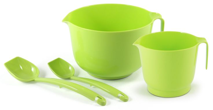 Limen värinen leivonta setti! Made in Finland. Fresh lime color baking set.