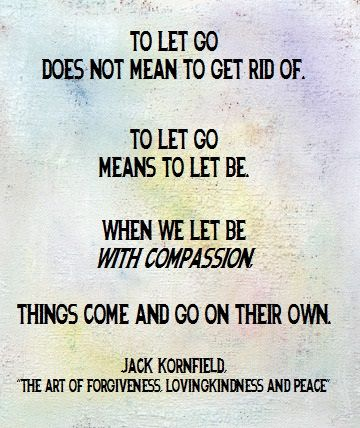 "By: Jack Kornfield, ""The Art of Forgiveness Lovingkindness and Peace."""