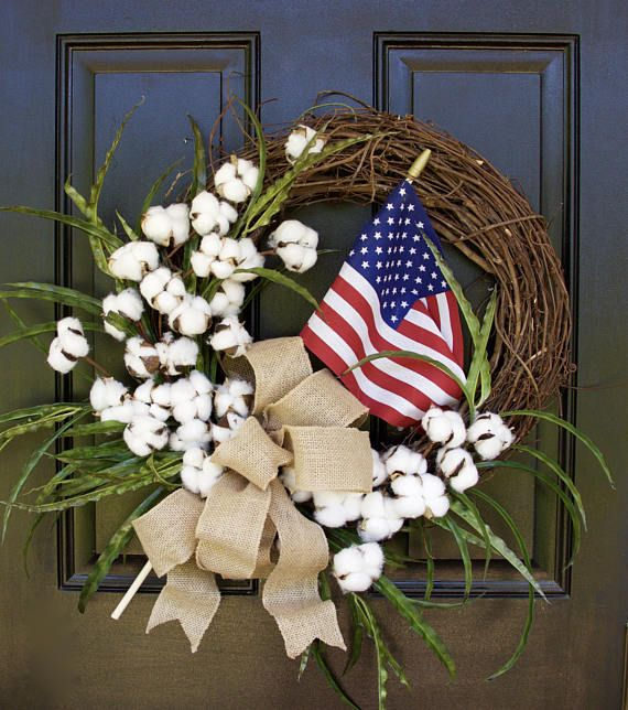 Fourth of July Wreath Summer Wreath 4th of July Wreath