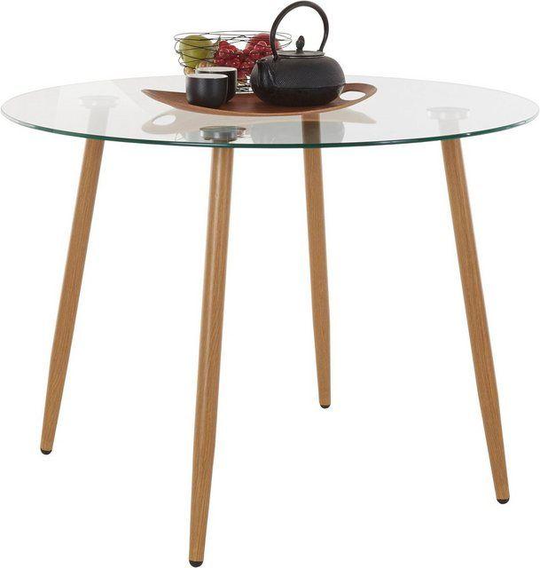Glastisch Rund Durchmesser 100 Cm Glastische Tisch Und Haus Deko