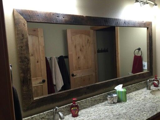 Barnwood Framed Bathroom Mirrors 22 best signs and frames from barn wood and reclaimed materials