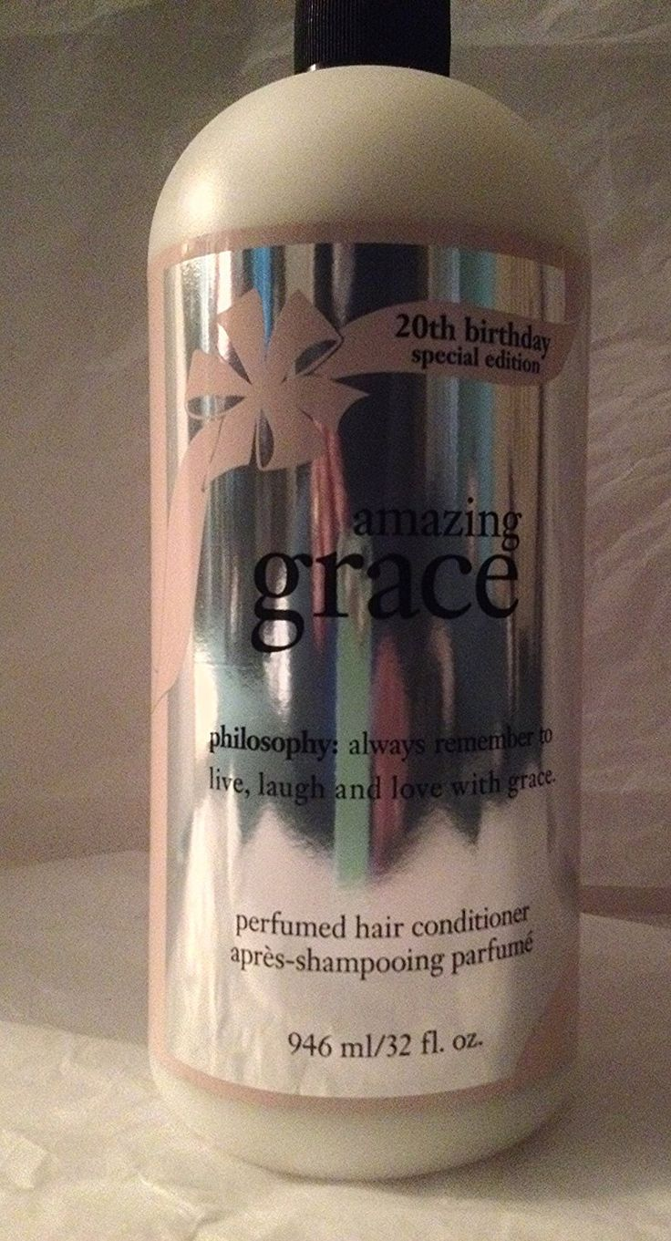 die besten 20 amazing grace perfume ideen auf pinterest philosophy amazing grace perfumed hair conditioner supersized 32 ounce 20th birthday special edition