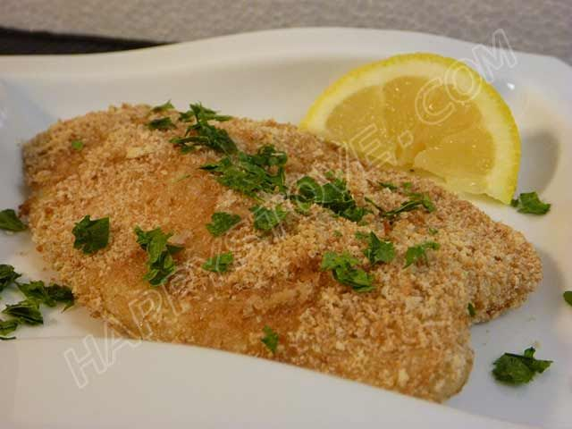 Oven Baked Breaded Tilapia Is A Healthy And Light Dish That Does Not Require Use Of
