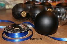 Thin Blue Line Ornaments  This is so cool!! What a way to honor those who have given all in the line of duty!!