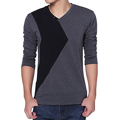 Partiss Herren Langarm Patchwork Polo Cotton Business Style Hoodie T-shirt Partiss http://www.amazon.de/dp/B011QVJFW0/ref=cm_sw_r_pi_dp_jMkSvb19GJYE5
