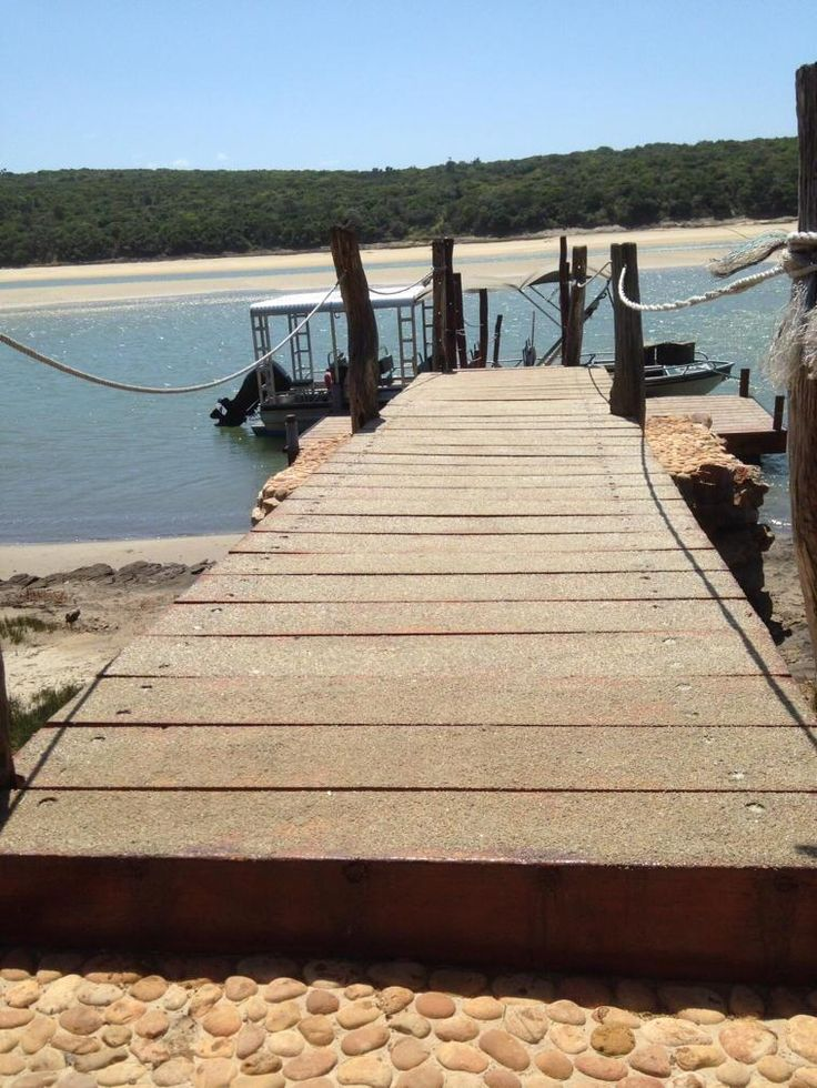 The jetty in #kentononsea where you depart by #boat for #Sibuya #game-reserve http://www.sibuya.co.za