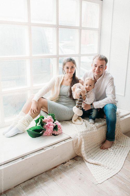 Семейная Фотосессия, Детская : Дмитрий, Марина и Максим