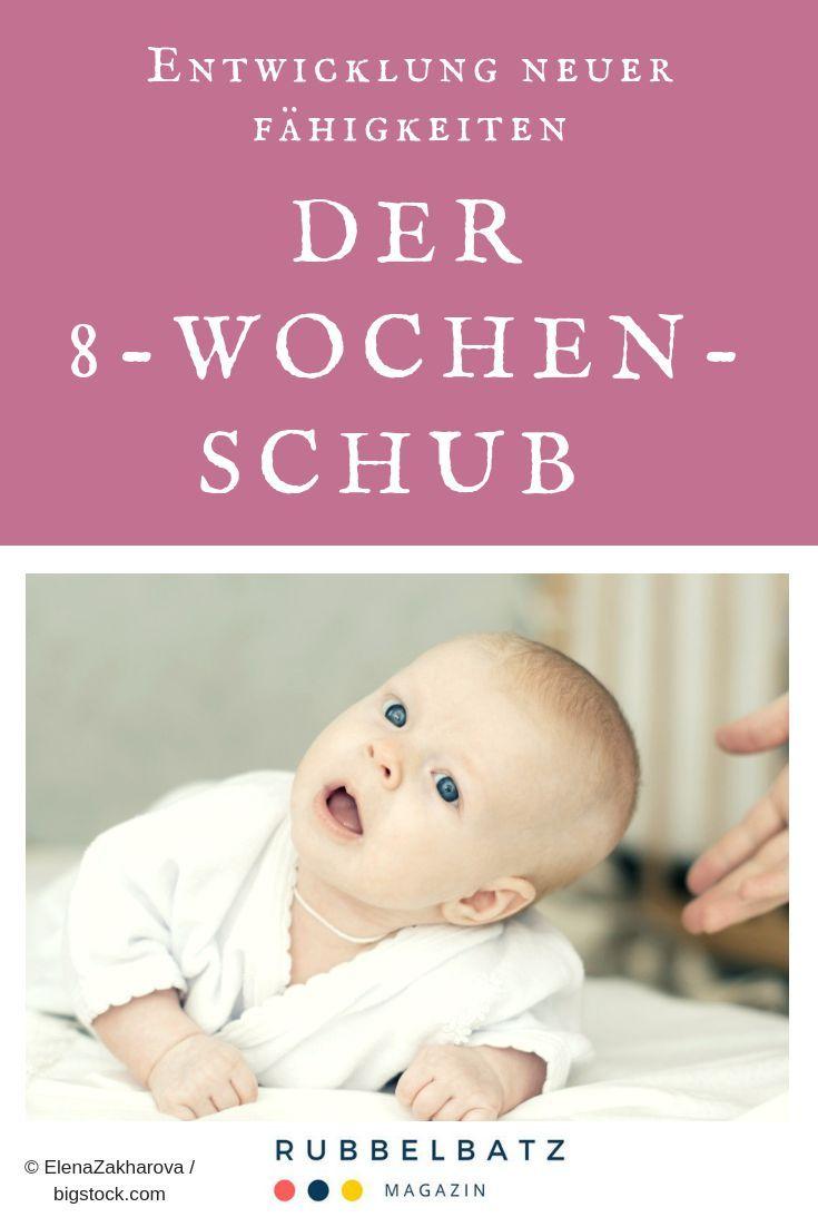 8 Wochen Schub Der Zweite Wachstumsschub Deines Babys
