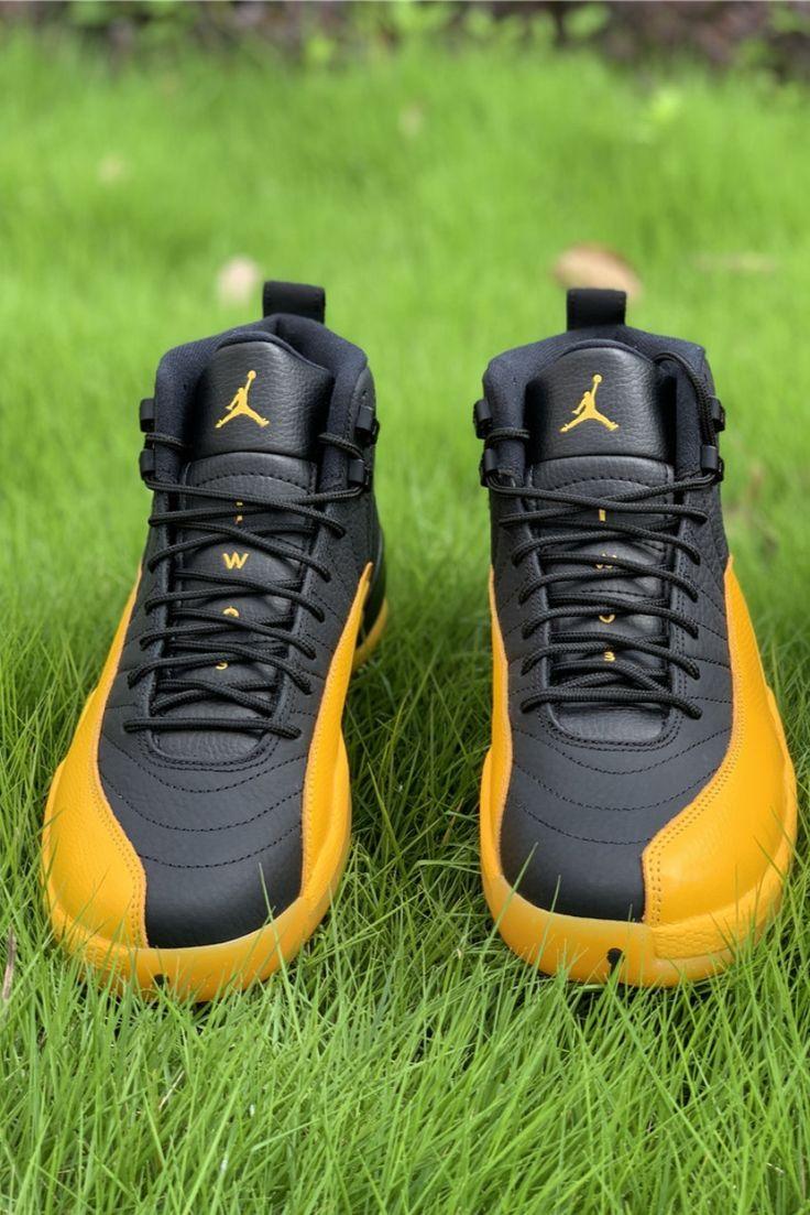 "Air Jordan 12 ""University Gold"" in 2020 Hype shoes"