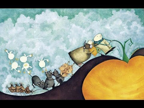 The Gigantic turnip - The Enormous turnip. Репка - Сказка про репку. Children's books Nursery Rhymes - YouTube