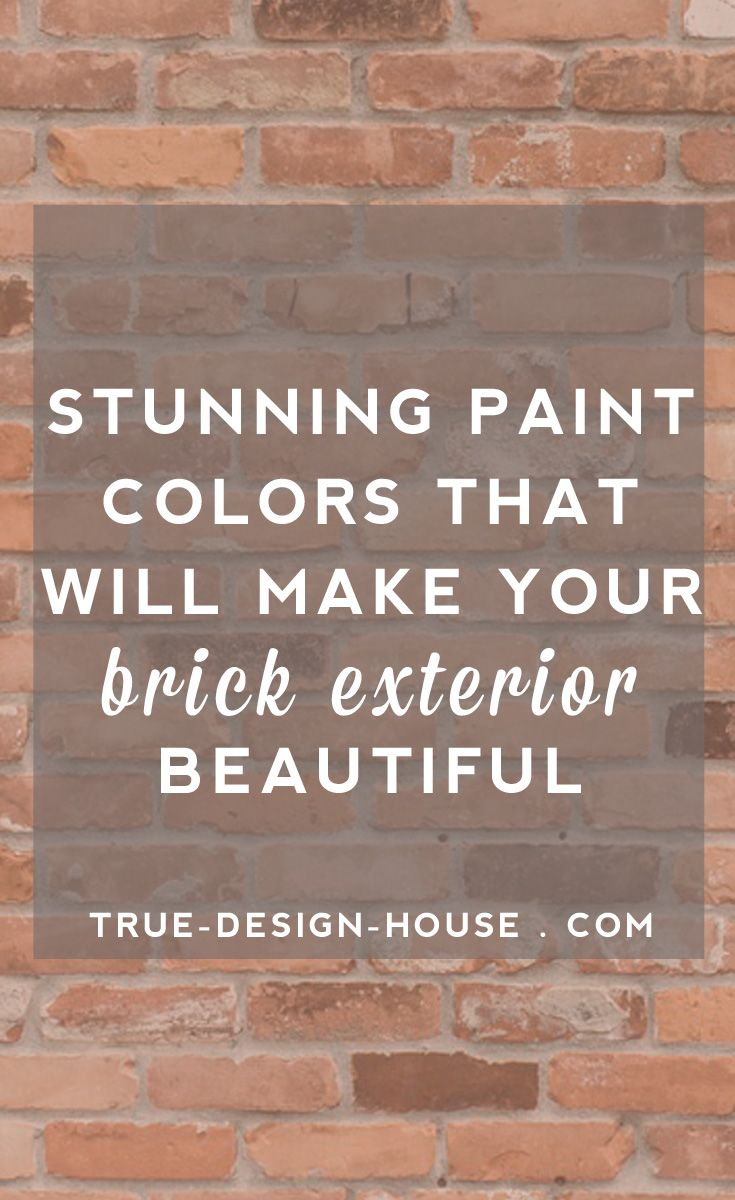 17 best images about curb appeal on pinterest window - How to paint brick house exterior ...