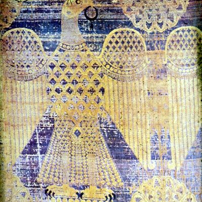 10th century, Auxerre, Byzantine silk panel with spread eagle Byzanz, note similarity to Alexander wallhanging in Würzburg  Flickr - Fotosharing!
