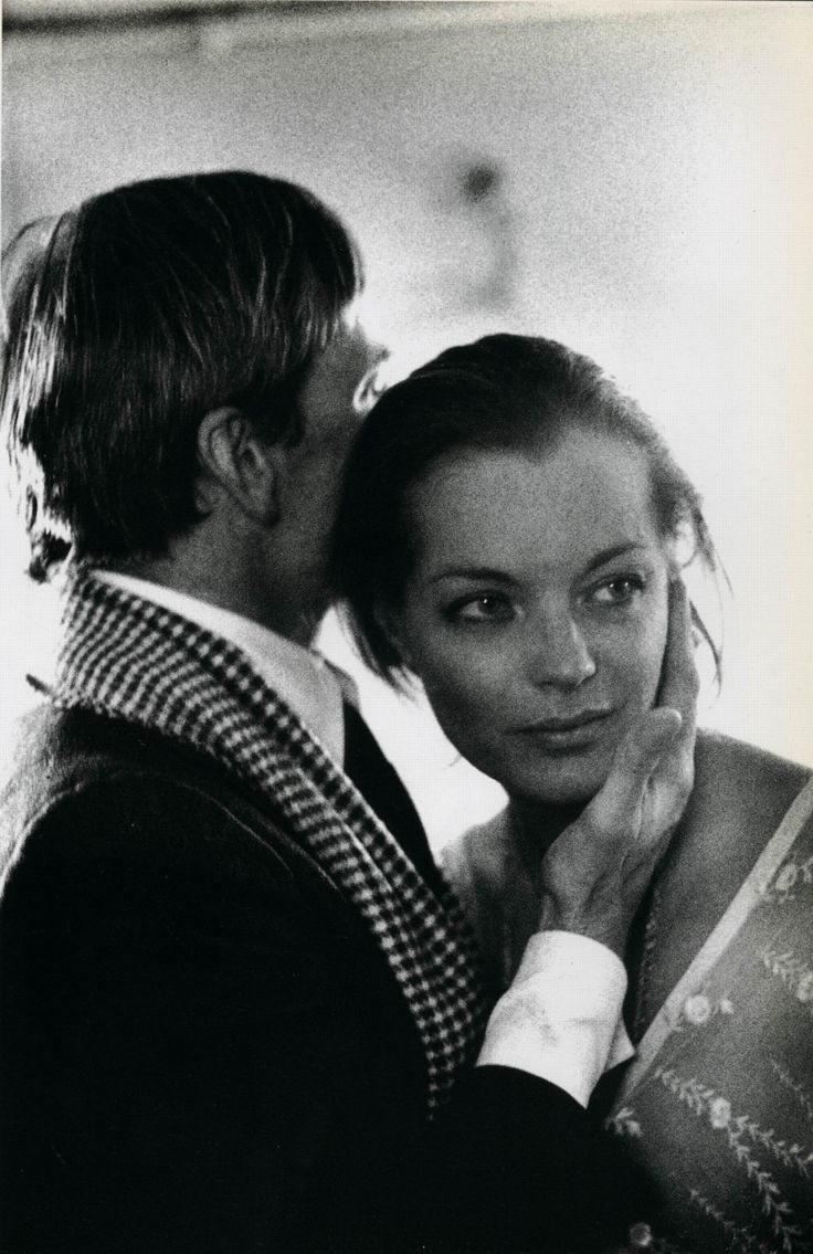 Romy Schneider and Klaus Kinski in L'important c'est d'aimer directed by Andrzej Zulawski, 1975. Photo by Etienne George