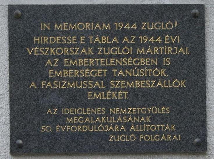File:Zuglói 1944-es emléktábla Amerikai út 57.JPG