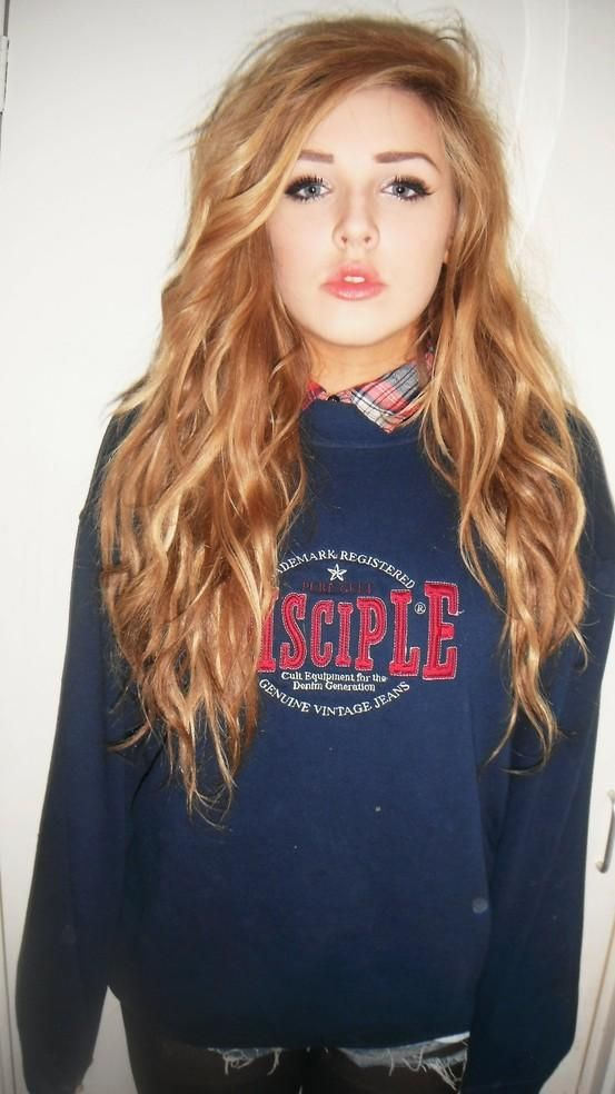 pretty long hair, looks like school uniform
