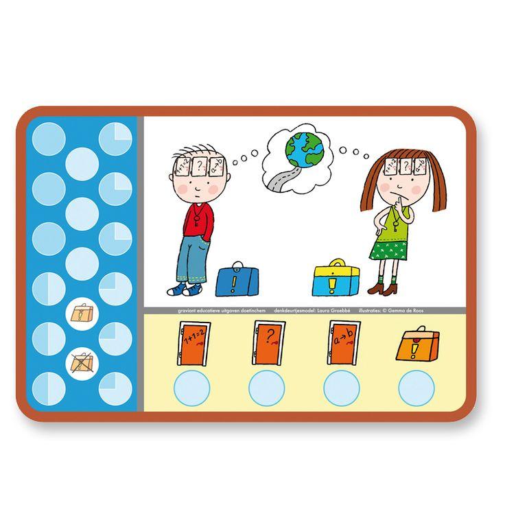 Denkdeurtjesmodel 'De kracht van het kind in beeld'. Instrument om doelgericht te communiceren met (hoogbegaafde) kinderen uit de groepen 1 t/m 4
