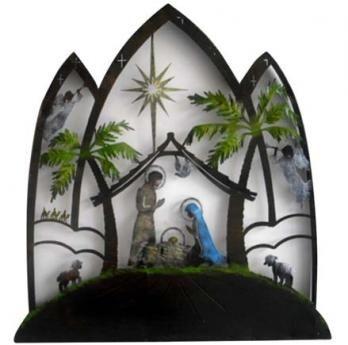 Cuadro Natividad 62 cm H x 52 cm W $ 180.000