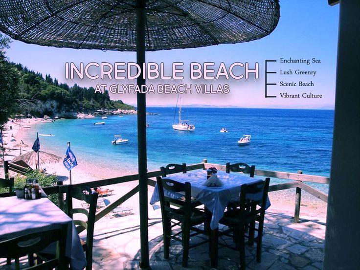 #Incredible #Beach ! #GlyfadaBeachVillas