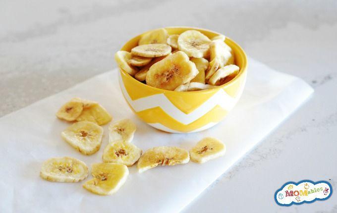 Baked Banana Chips Recipe Banana Chips Baked Banana Chips Healthy Afternoon Snacks