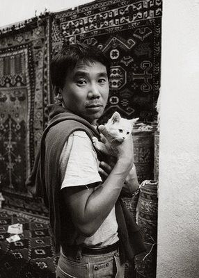 Murakami: Cat People, Haruki Murakami, Murakami Haruki, Kitty Cat, Harukimurakami, Book, Writers, Old Photos, Cat Lovers