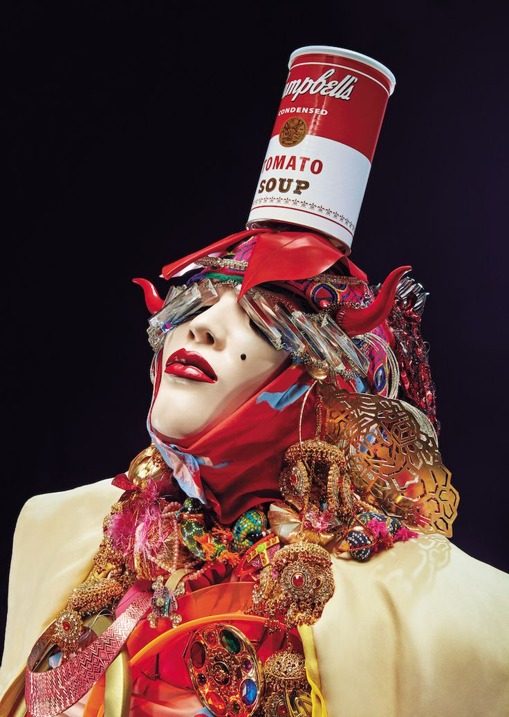Daniel Lismore Expresses his Vibrant Personality in Elaborate Wearable Sculptures