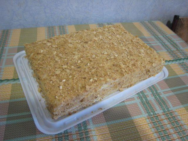 """Торт """"Наполеон"""" домашний и очень вкусный #торт_на_заказ_харьков #день_рождения #слоеный_торт"""