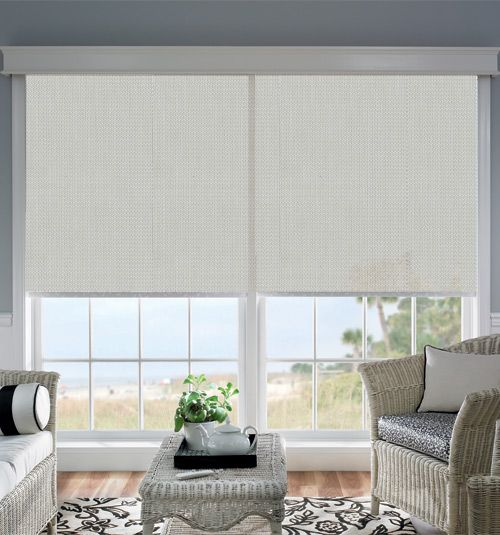 Best 50 solar screens shades images on pinterest sheet for Bali motorized window treatments