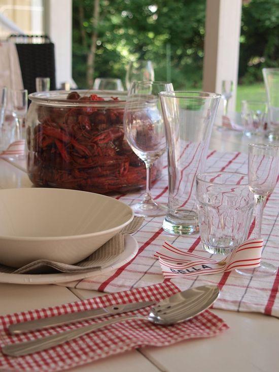 Bella och Villa Alén: A crayfish party