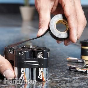 battery disposal - is taping it useful? Watch...http://www.kctv5.com/story/24594124/kctv5-exposes-the-9-volt-battery-fire-danger DEAD OR ALIVE...9Volt batteries can start fire if not stored properly..TAPE THE TOP TO PREVENT THEM FROM TOUCH WHEN DISPOSING..