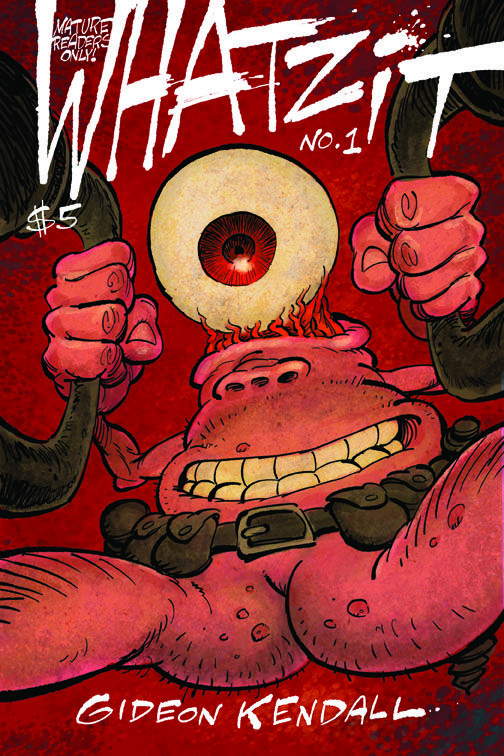 Whatzit Issue #1 now for sale on www.whatzitcomic.com  #graphicnovel #comics #zits #sciencefiction