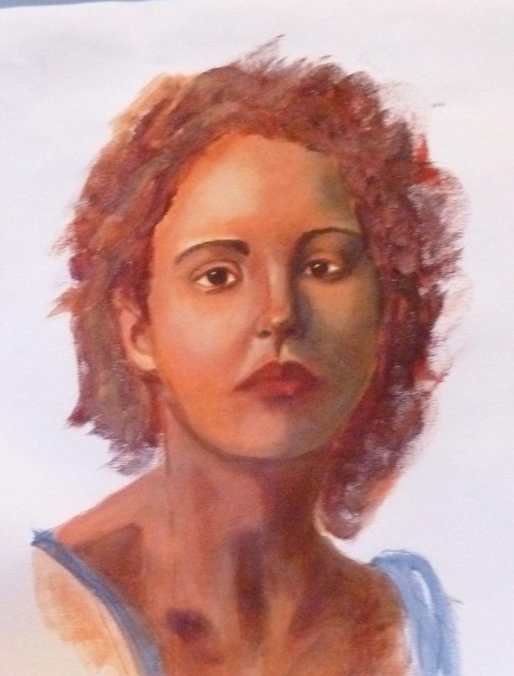 Portrait in Acrylic