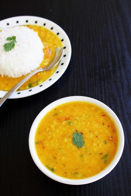 Moong dal tadka - no onion no garlic recipe You don't like moong dal ...