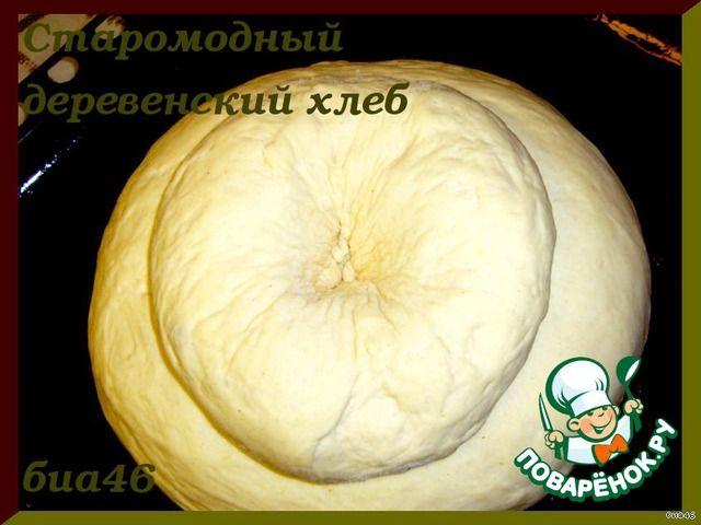 Старомодный деревенский хлеб ингредиенты