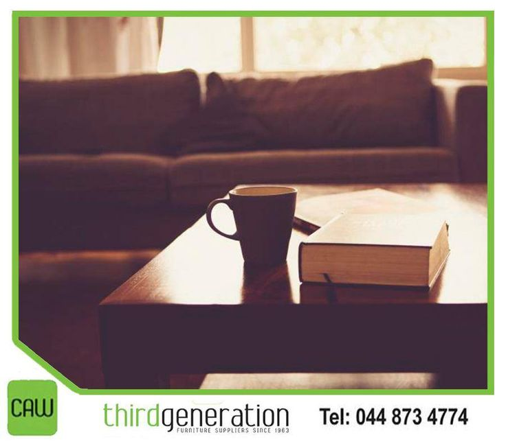#MondayBlues getting the better of you? Sit back and relax on your very own comfortable sofa from #ThirdGenerationCAW. Visit us in-store or contact us on 044 873 4774.