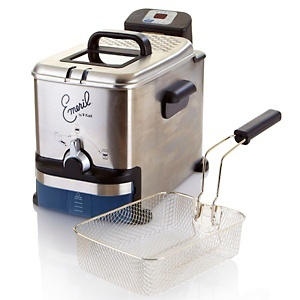 Emerilware™ Stainless Steel Fryer with Oil Filtration System by T-fal® at HSN.com.