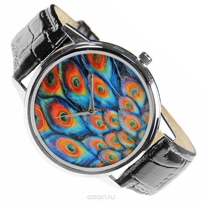 Часы наручные Mitya Veselkov Павлиньи перья в бирюзовом