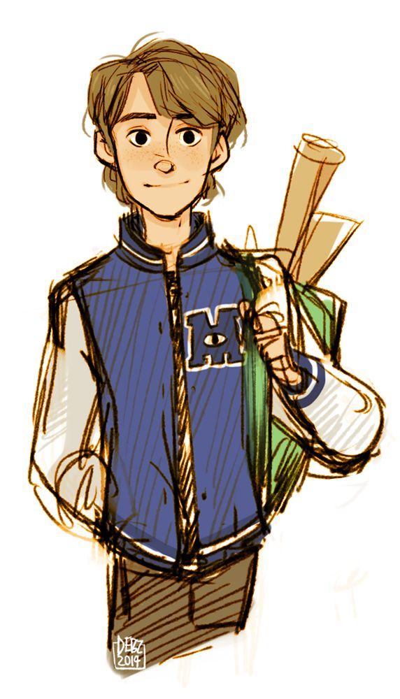 Doodlebug Debz Sketch Of College University Andy What