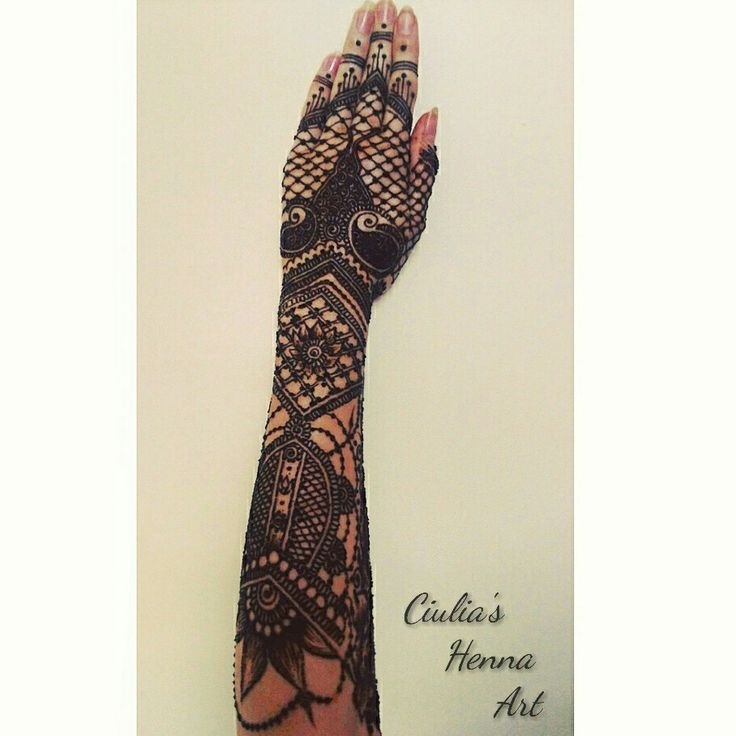 Henna tattoo ❤ #mine #henna #design #hennatattoo #tattoo #mehndi #beautiful #art