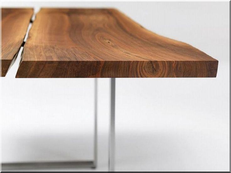 Tölgyfa asztal, egyedi fa bútor, oak table